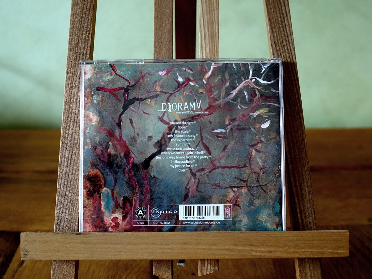 Image of album cd | even the devil doesn't care
