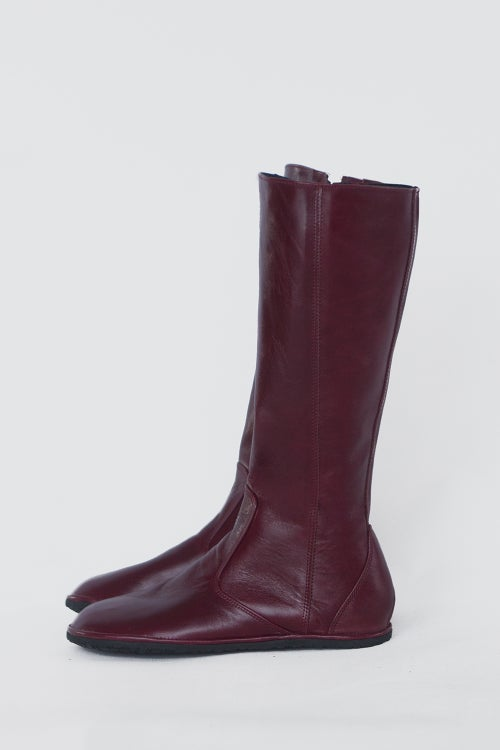 Image of Riding style boots - Vera in Oxblood