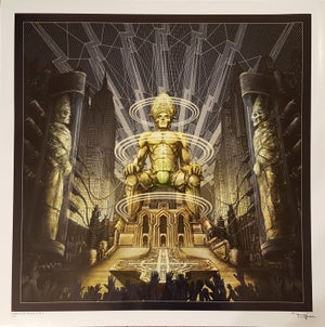 Image of GHOST CEREMONY AND DEVOTION limited edition artprint