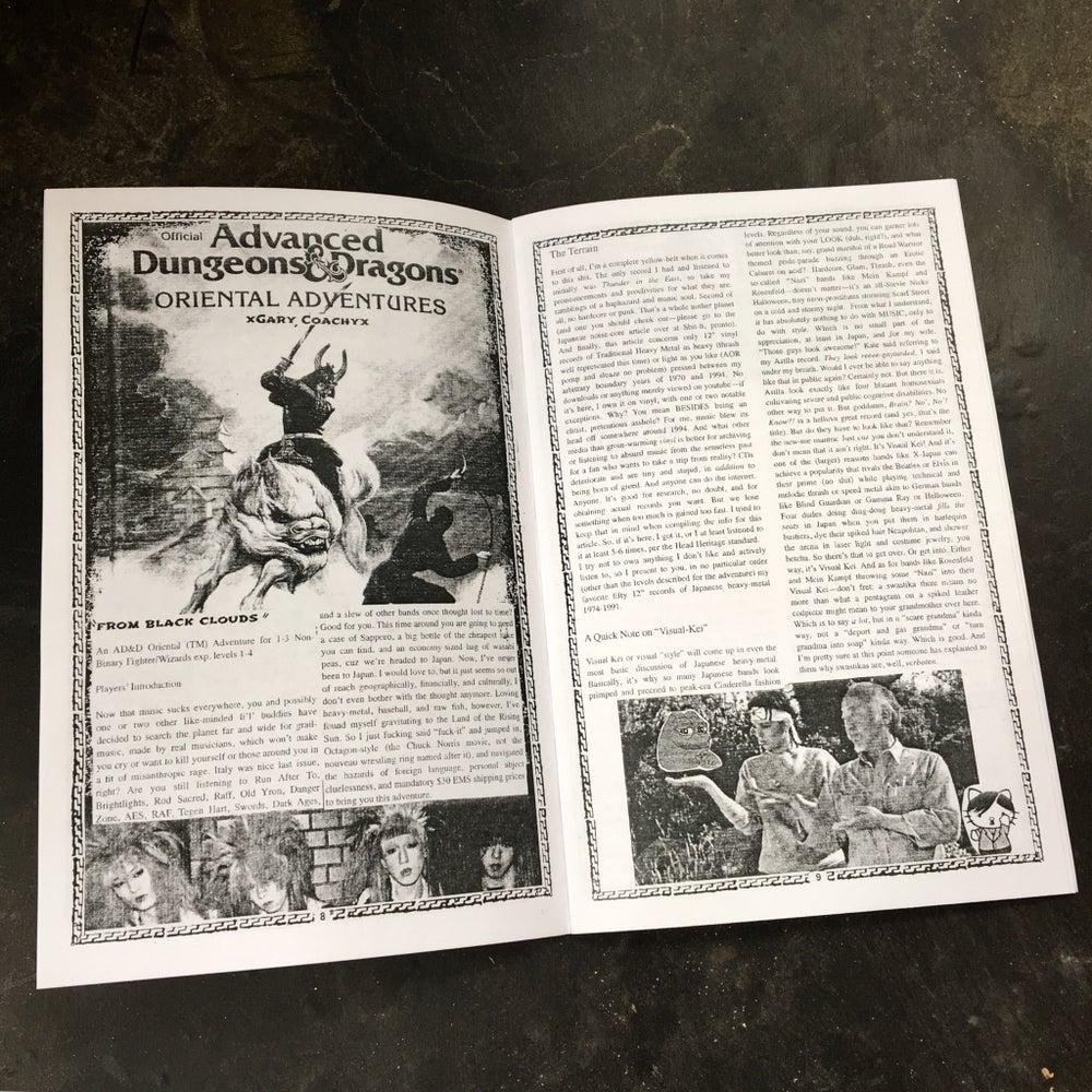 Image of BLACK GLOVE 'ZINE issue 4