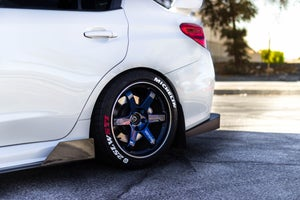 Image of Subaru WRX Carbon Fiber Side Splitters