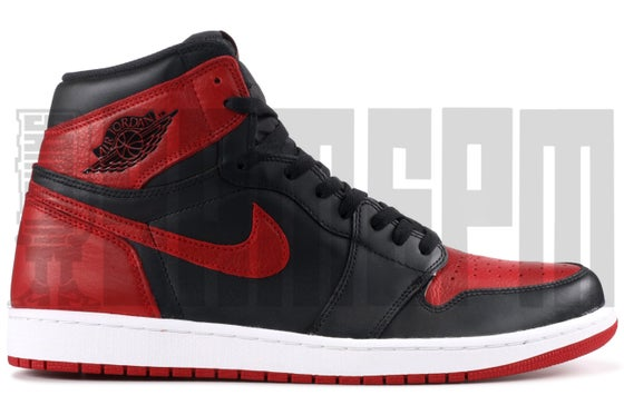 "Image of Nike AIR JORDAN 1 RETRO HIGH OG ""BANNED 2016"""