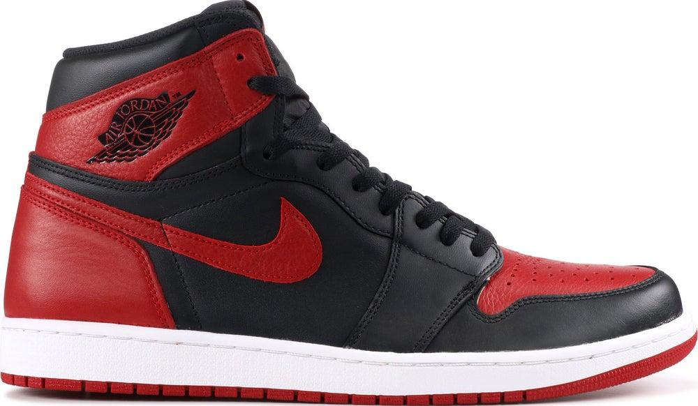 "Image of Nike Retro Air Jordan 1 ""Banned"" (2016) Mens (FREE SHIPPING)"