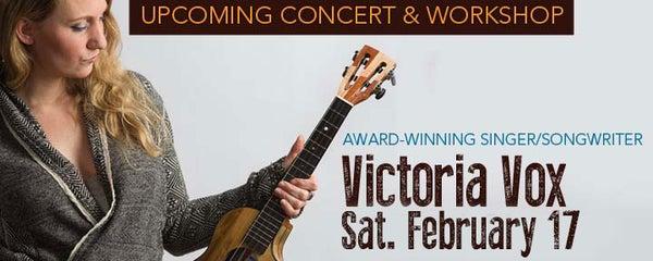 Image of Victoria Vox Concert and Workshop