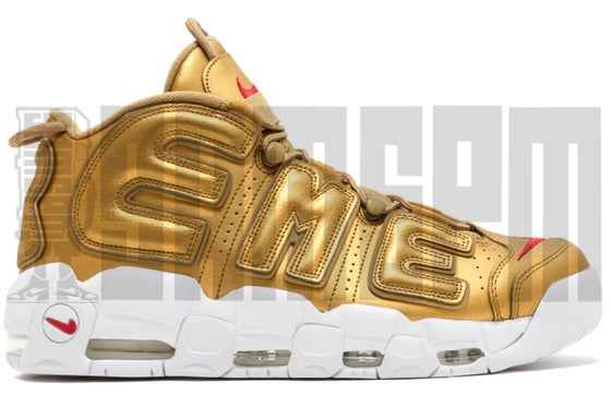 "Image of Nike AIR MORE UPTEMPO ""SUPREME GOLD"""