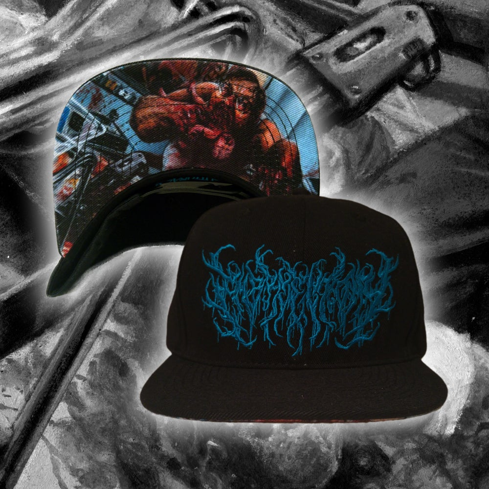 "Image of ""Beatdown Guttural Slam"" Snapback"