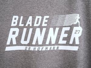 "Image of ""BLADE RUNNER"" tee - Organic Cotton - Heather Sport Grey"