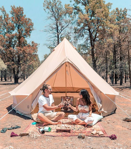 Image of INDIE BELL TENT 400 MESH WALLS
