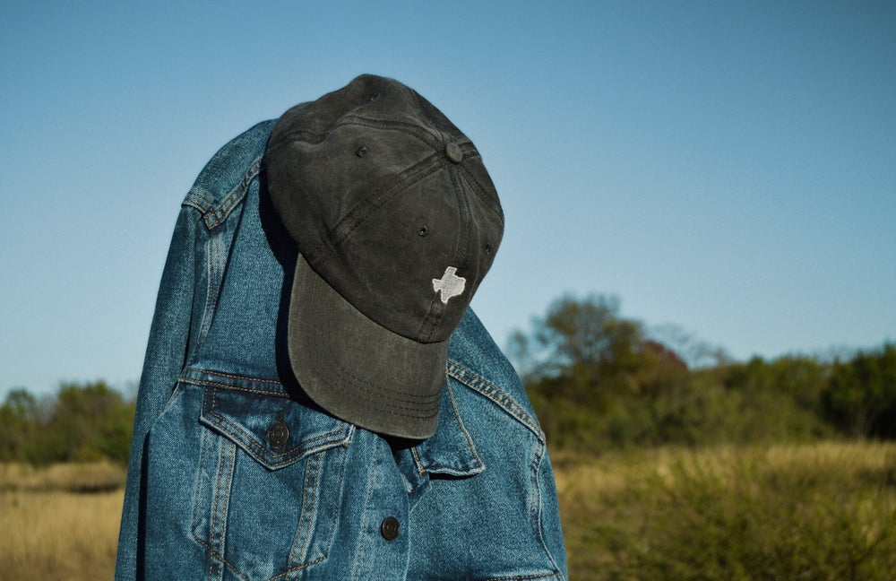 Image of Vintage Black Texas Strapback