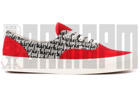 "Image of Vans ERA 95 DX ""FEAR OF GOD - RED CORDUROY"""