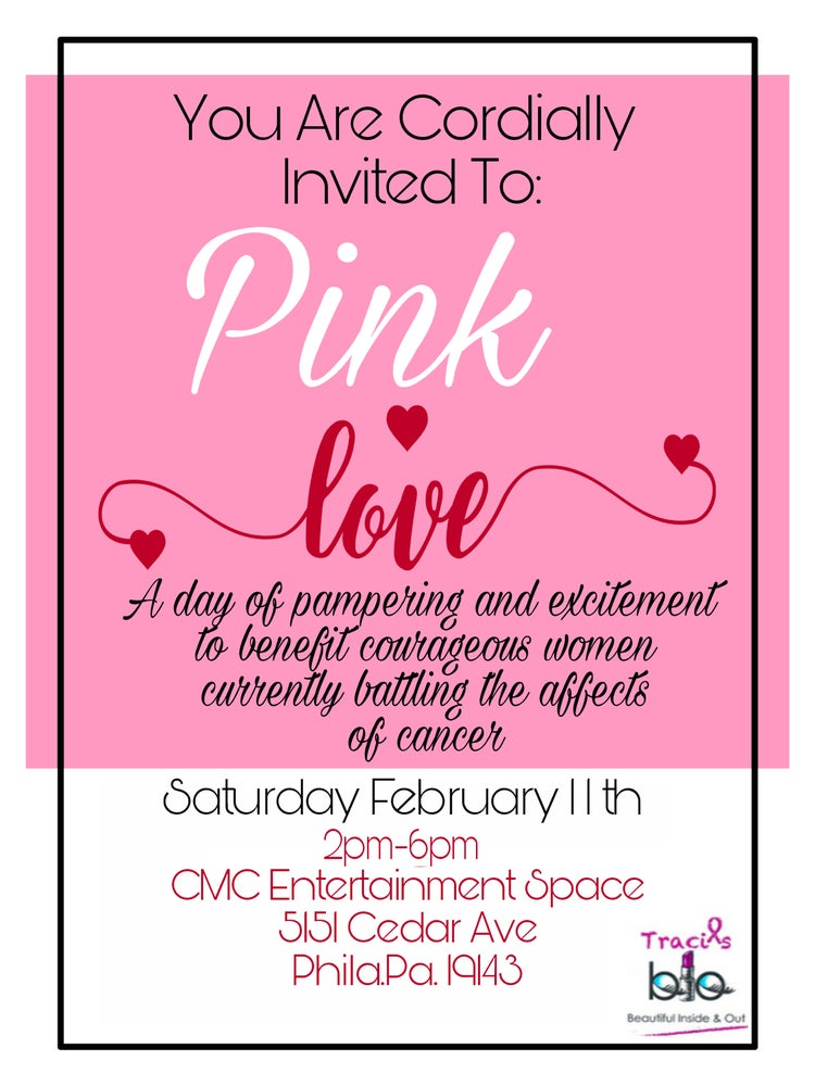 "Image of Traci's BIO Presents ""PINK LOVE"" Vendors Opportunity"