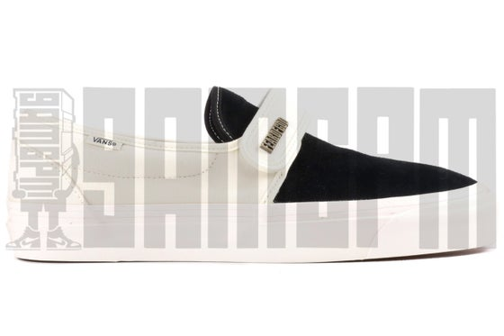 "Image of Vans SLIP-ON 47 V DX ""FEAR OF GOD BLACK/WHITE"""