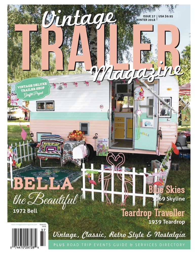 Image of Issue 37 Vintage Trailer Magazine