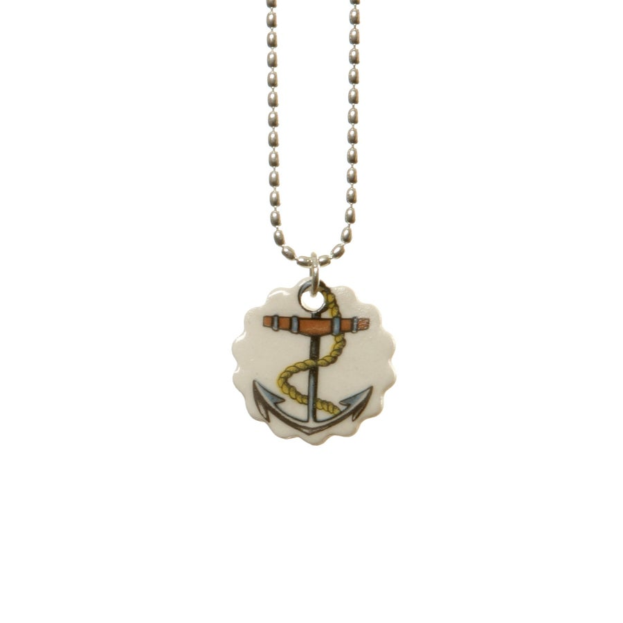 Image of Tattoo Anchor Pendant