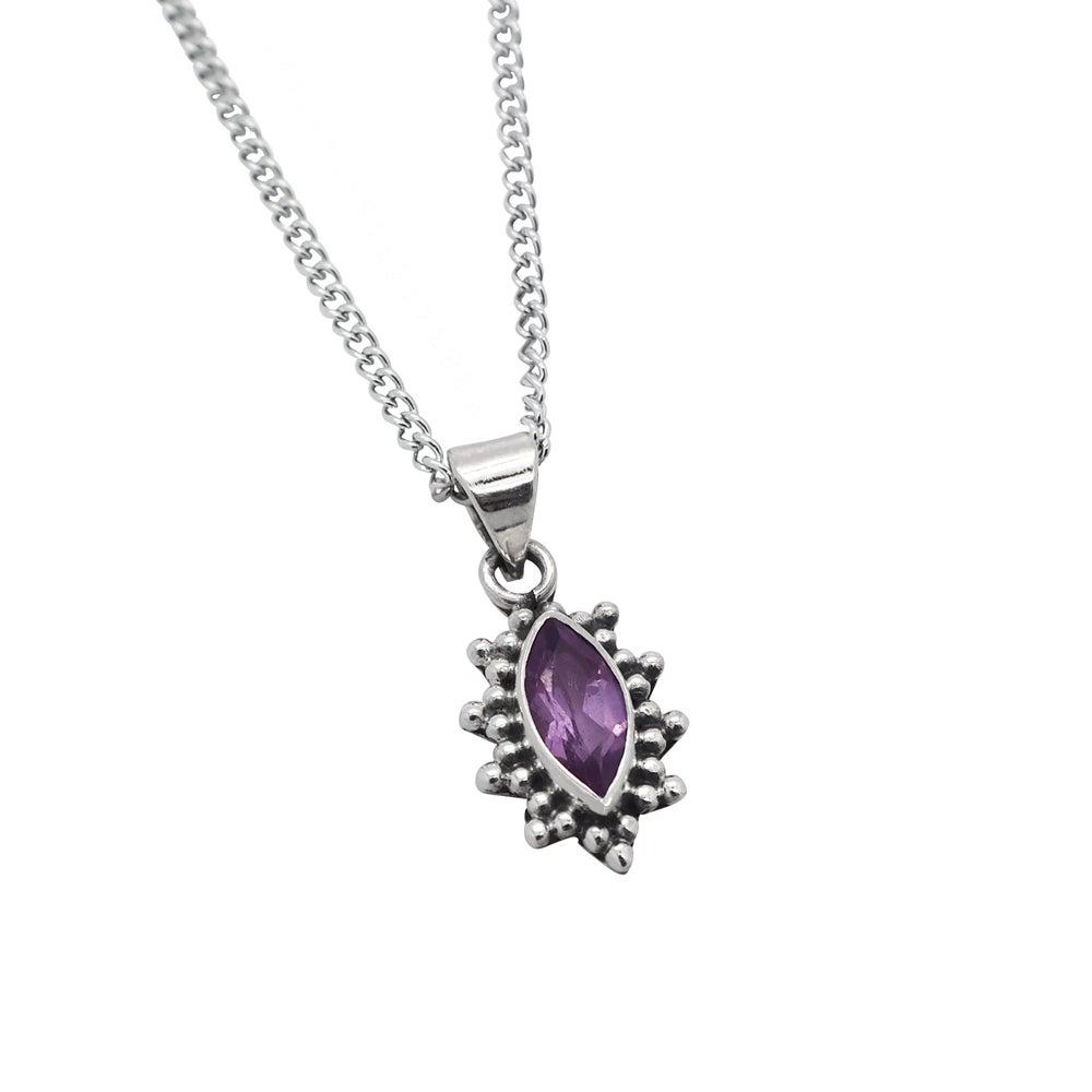 Image of Amethyst Selene Necklace
