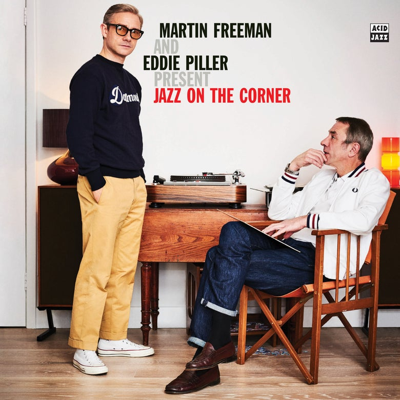 Image of Martin Freeman and Eddie Piller present Jazz On The Corner (Double LP) Pre-Order