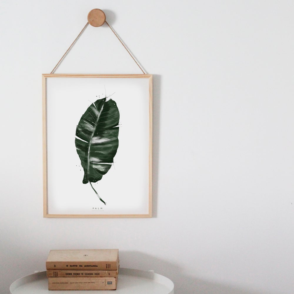 Image of PALM ART PRINT