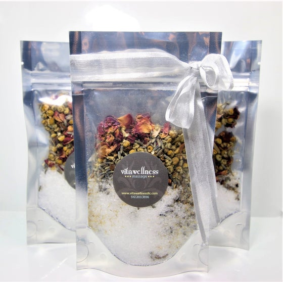 Image of Epsom Salt & Dried Flower Bath (5oz)