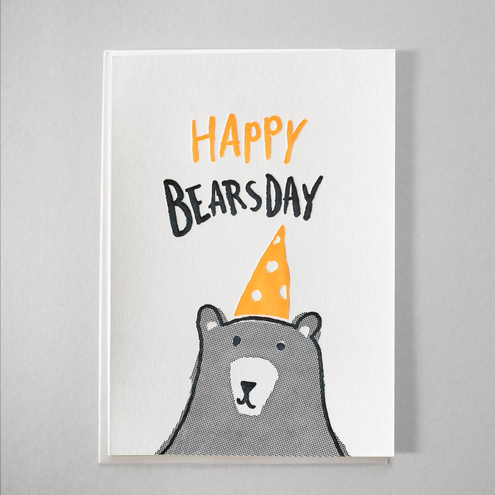 Image of Happy Bearsday
