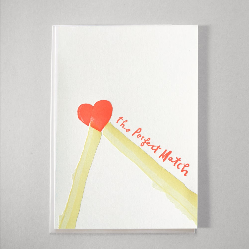 Image of Perfect Match - Valentines, Wedding or simply a LOVE Card