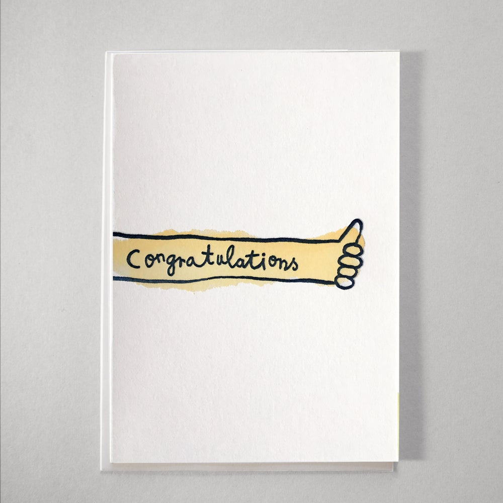 Image of Congratulations Letterpress Card