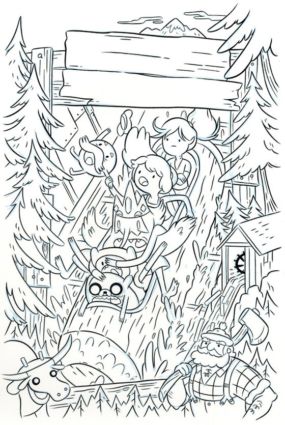 Image of Adventure Time #71 - Cover A