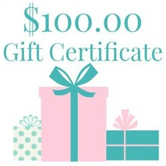 Image of $100.00 Gift Certificate