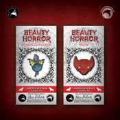 Image of The Beauty of Horror: Limited Edition Ghouliana and Batty enamel pins!