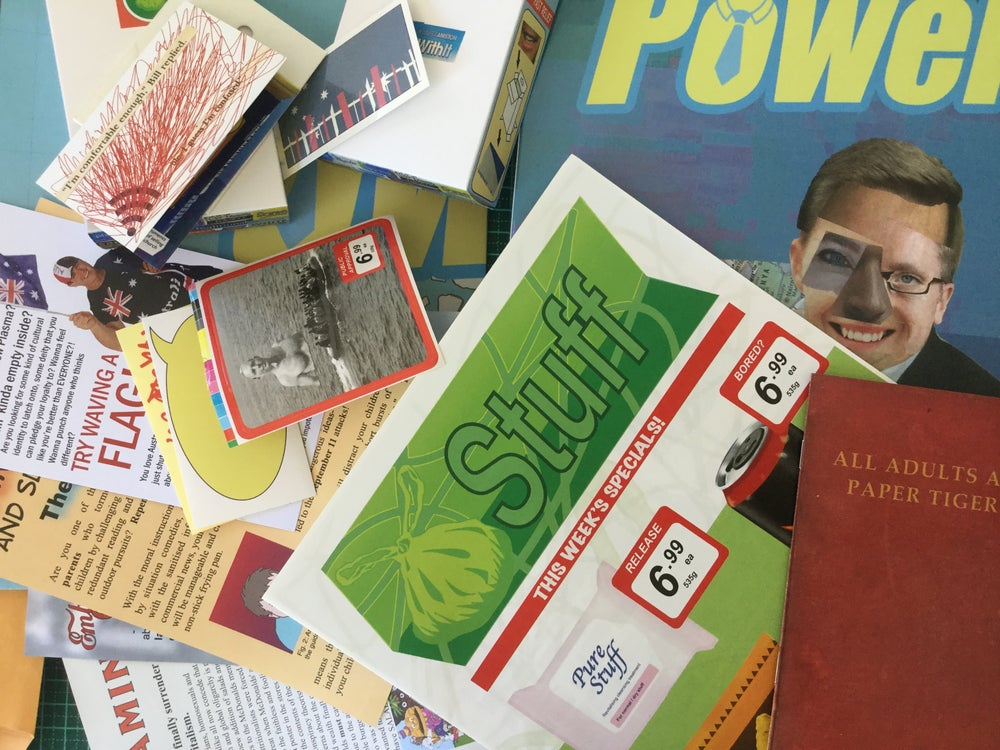 Image of Collection of weird ephemera from 2004-2016