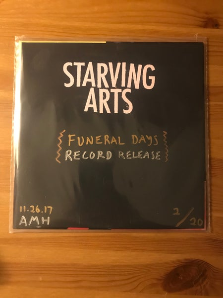 "Image of Funeral Days 7"" w/ Record Release Cover - THREE LEFT!"
