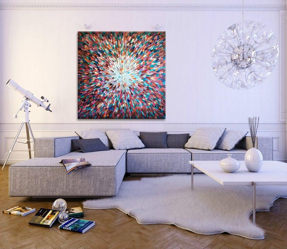 Image of Hidden universe - BRONZE, 120x120cm