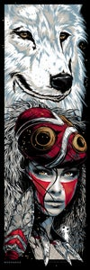 Image of MONONOKE - art print