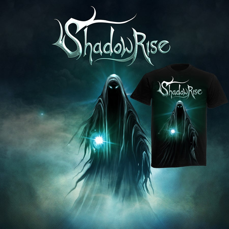 """Image of COMBO: """"Shadowrise"""" debut album + shirt PRE-ORDER NOW!"""