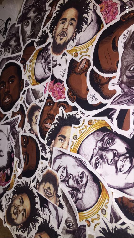 Image of Portrait Stickers