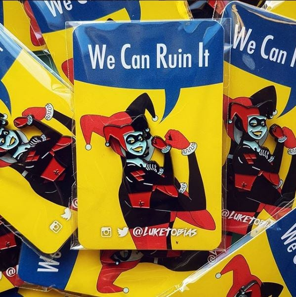 Image of We Can Ruin It Soft Enamel Pin (Pre-Order)