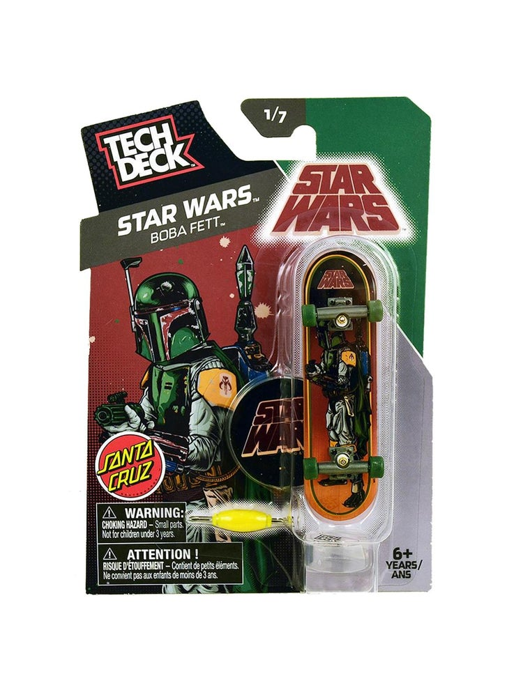 Image of Tech Deck STAR WARS Boba Fett Single Set