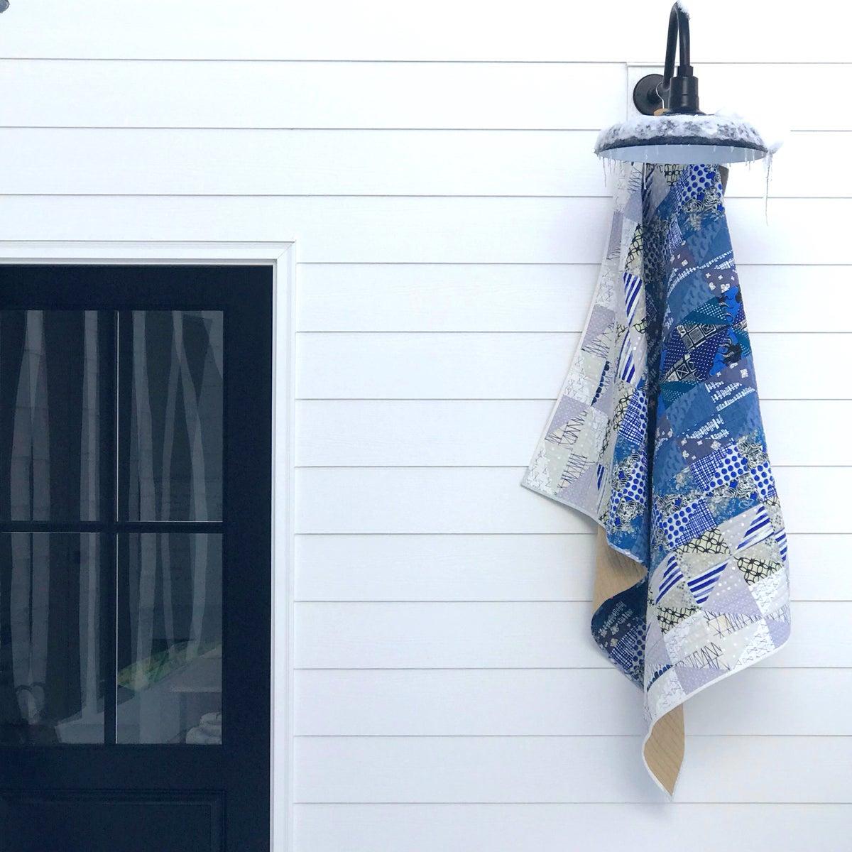 Image of Indigo Dusk-to-Dawn Quilt