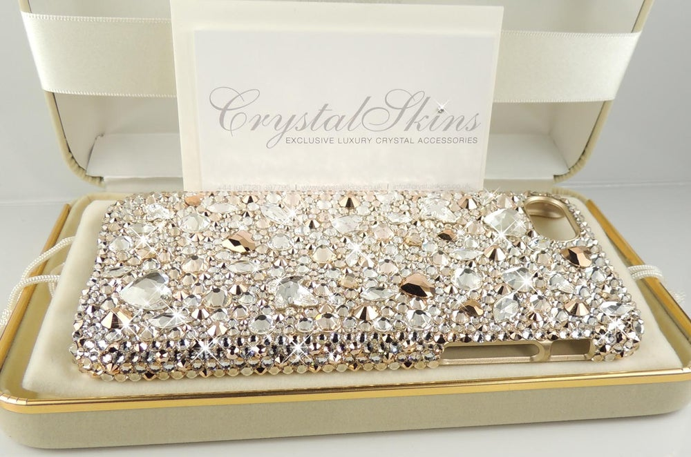 Image of 'J'Adore' for the iPhone & Samsung Range with Crystals By Swarovski®