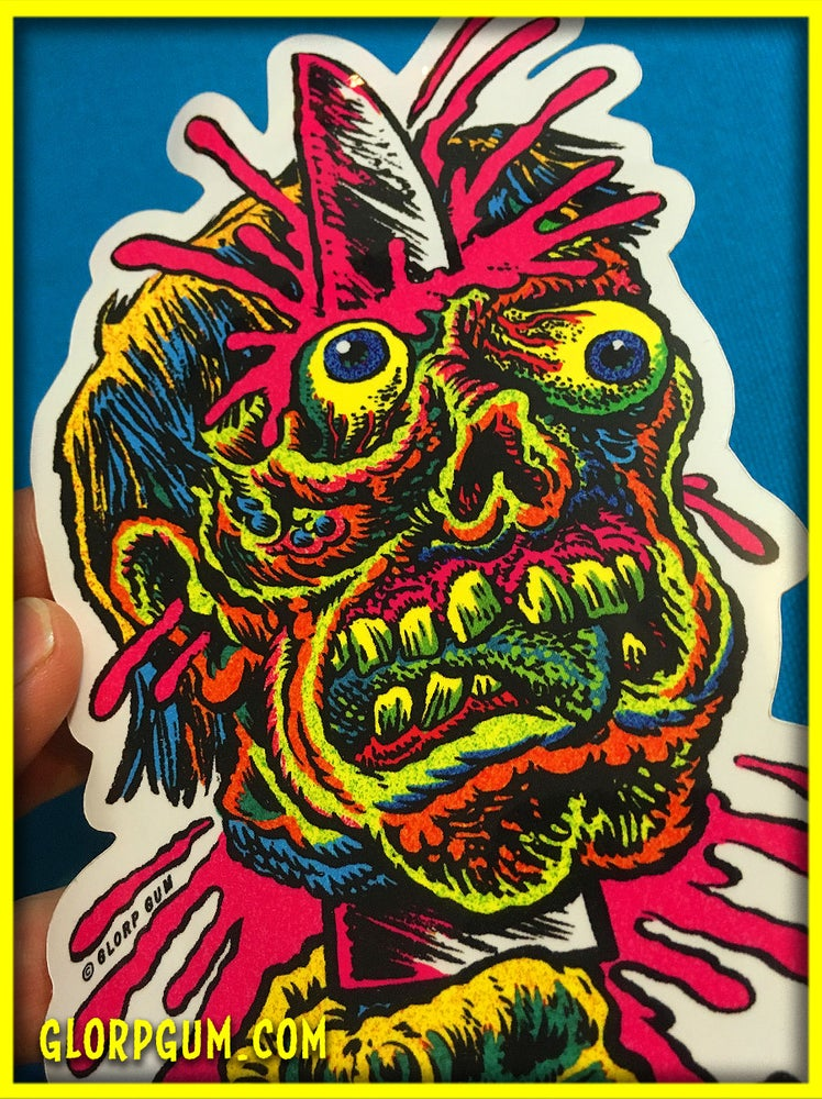 Image of Knife head sticker