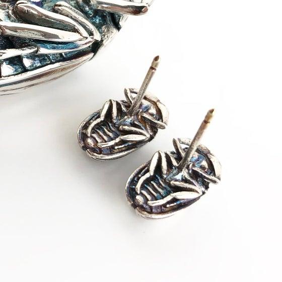 Image of Scarab earrings