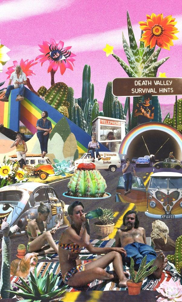 Image of The Family Acid LSD Desert Poster
