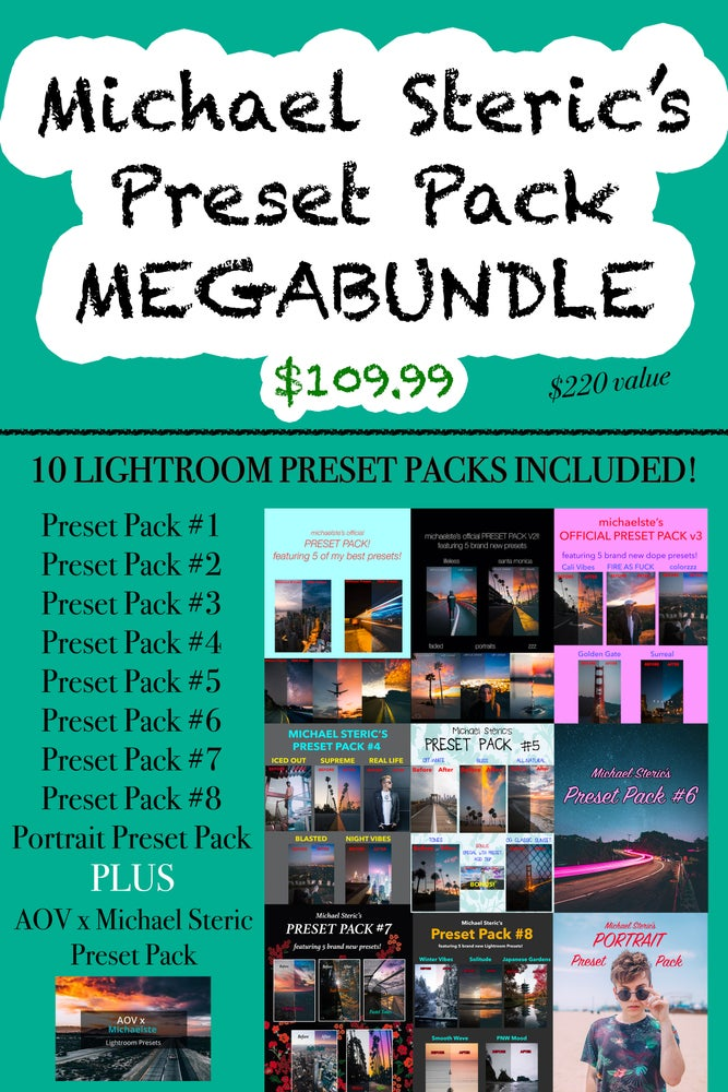 Image of Michael Steric Preset Pack MEGABUNDLE