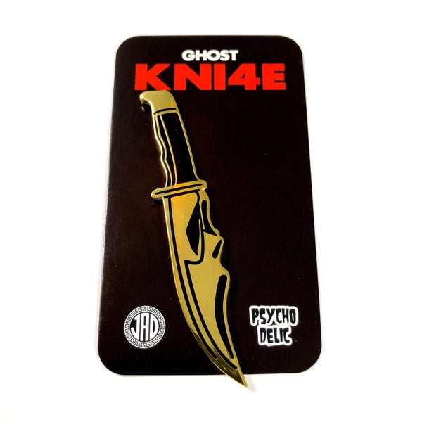 Image of GHOST KNI4E 24K Edition Pin
