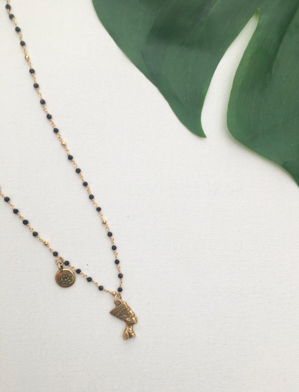 Image of H.E.R Nefertiti Lotus Necklace