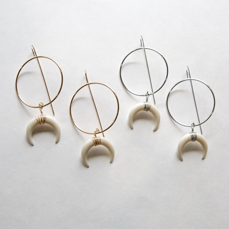 Image of The Goldie Horn Hoop