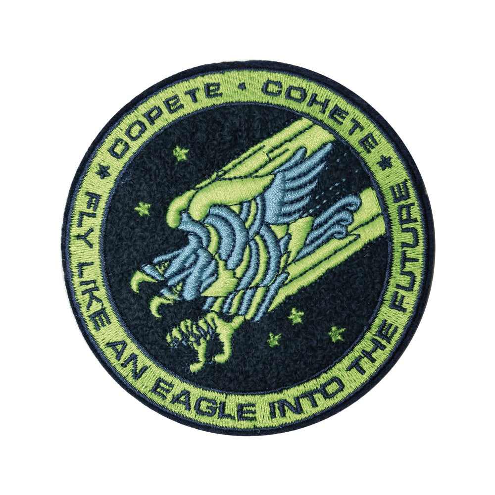 Image of Patch - Fly Like An Eagle Green