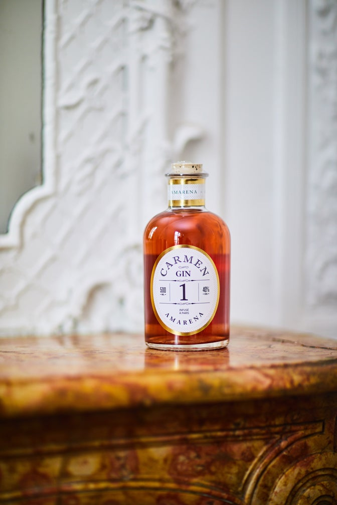 Image of Gin infusé AMARENA