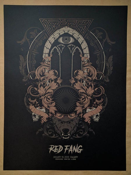Image of Red Fang - Anonymous Ink & Idea