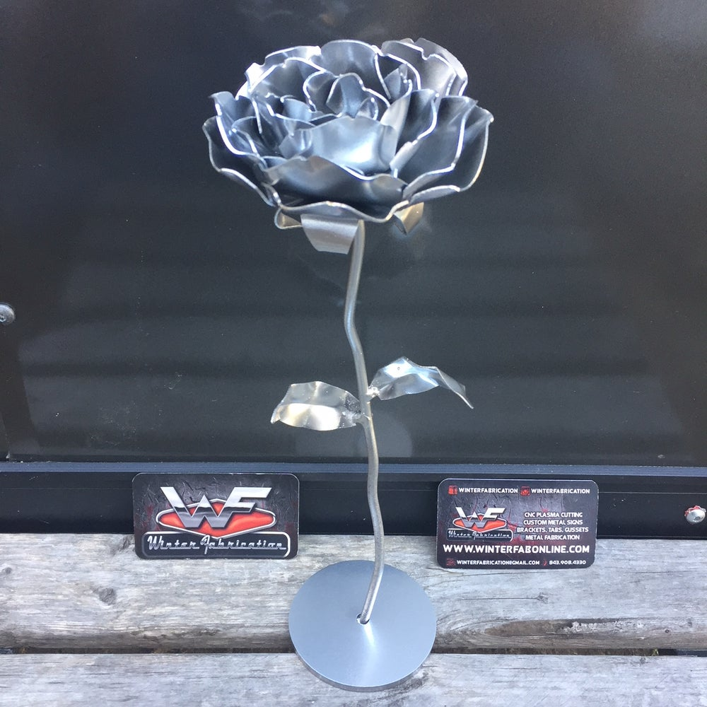 Image of Forever Rose - with base