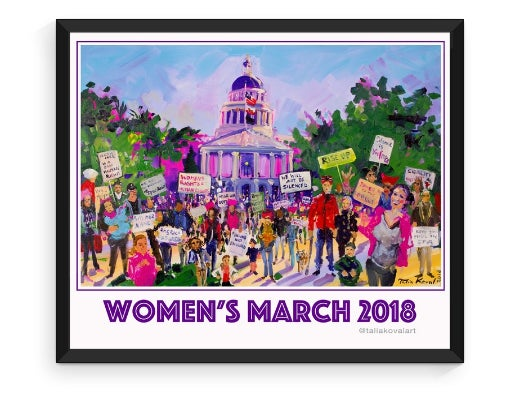 Image of Poster - Women's March 2018